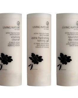 living nature losse producten gecombineerde narmale huid