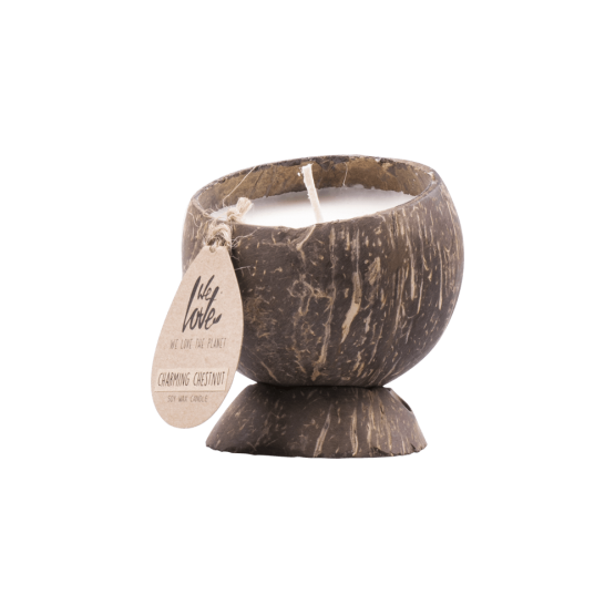 we love the planet candle charming chestnut