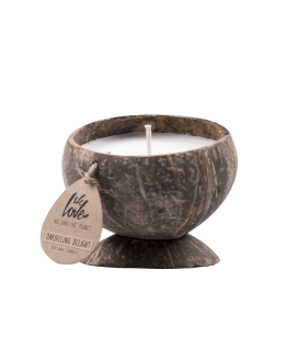 we love the planet candle darjeering delight