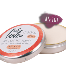 we love the planet deo blik sweet en soft vegan