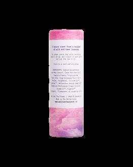 we love the planet deo lavendel achterkant
