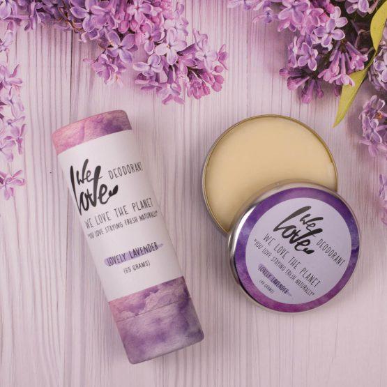 we love the planet deo lavendel sfeerbeeld