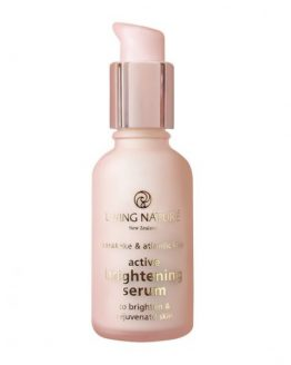 living nature active brightning serum