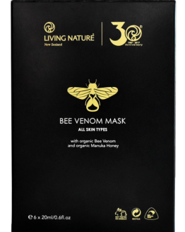 living nature bijen gif maskers 6 x