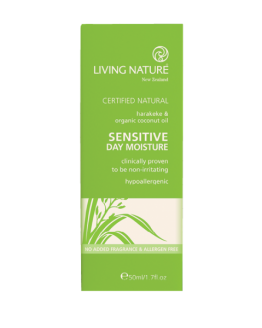 living nature dagcreme voor de gevoeilge huid 2