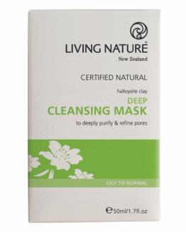 living nature diep reinigend masker
