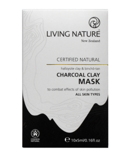 living nature houtskool klei maskers