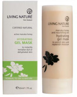 living nature hydraterend gel masker