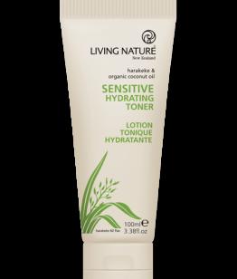 living nature hydraterende toning gel gevoelige huid