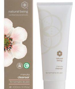 living nature manuka cleanser normale tot droge huid