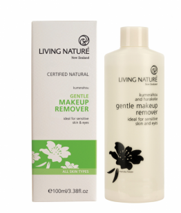 living nature oog make up remover