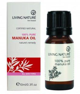 living nature pure essentiële manuka olie 10 ML