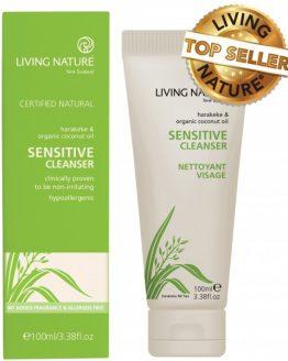 living nature reiniging voor de gevoelige huid