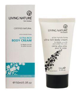 living nature ultra rijke bodycrème 150 ML