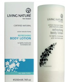 living nature verfrissende hand en body lotion 200ml