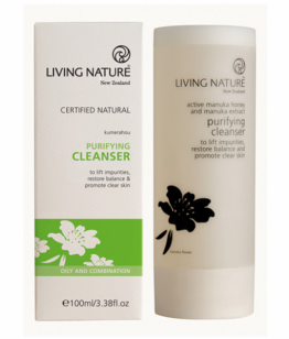 living nature zuiverende reiniging gel