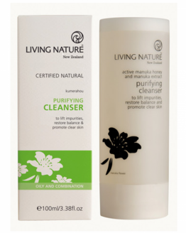 living nature zuiverende reiniging gel