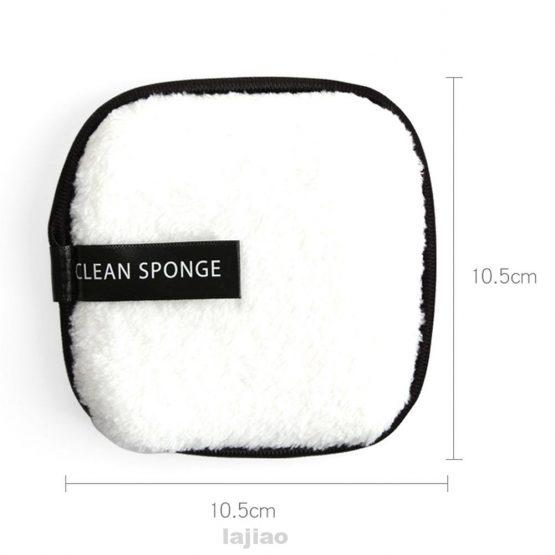 Herbruikbare Facial Clean Sponge white